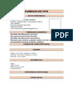Curriculum Vitae Modelo2b Ocres