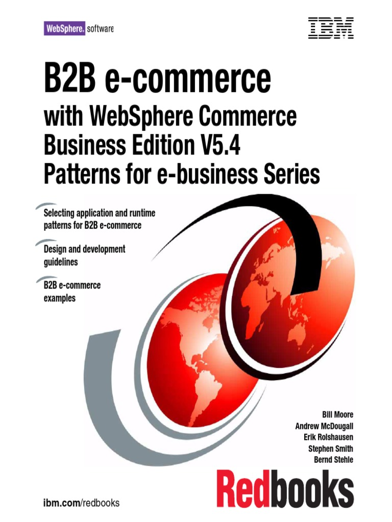 IBM Redbook B2B eCommerce with Websphere Commerce Besiness