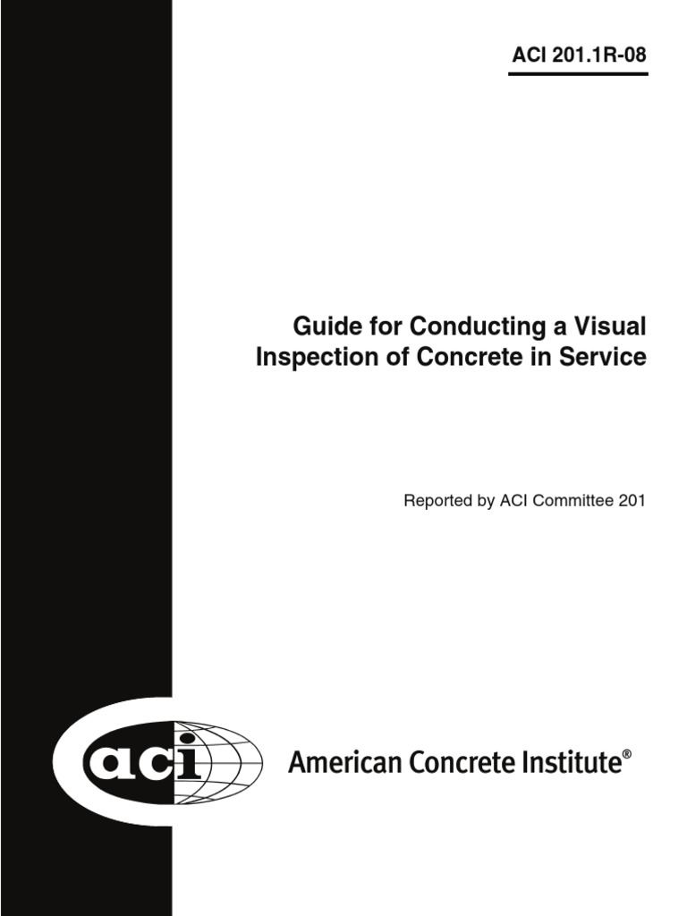 Aci 2011r 08 guide for conducting a visual inspection of concrete aci 2011r 08 guide for conducting a visual inspection of concrete in service fracture concrete fandeluxe Images