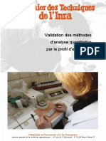 Cahier Validation