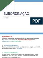 G Subordinação7