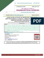 ANTICANCER ACTIVITY OF METHANOL EXTRACT OF SESUVIUM PORTULACASTRUM L. WHOLE PLANT AGAINST EHRLICH ASCITES CARCINOMA (EAC)