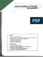 6.2 La Importancia Relativa y El Riesgo de Auditoria