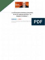 """32 Afirmaciones Gnósticas (Extraídas de Los 22 Capítulos Del Libro """"La Religión Prohibida"""") – Gnosis Primordial"""