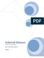 Our Report on Colored Glass