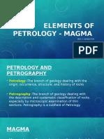 Elements of Petrology - Magma