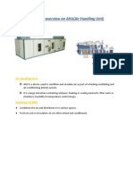 Technical Overview on AHU