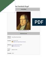 Resumen Del Pensamiento de Hegel