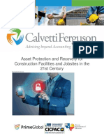 113017 Asset Protection and Recovery for Construction Facilities and Jobsites in the 21st Century