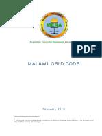 Malawi Grid Code