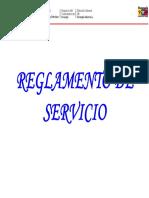 Presentacion Reglamento de Servicio