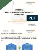 1. Armonización Regulatoria