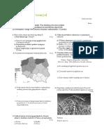 Geografia Rolnictwo i Przemysl