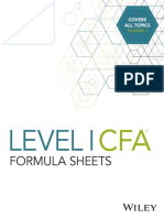 Sample Level 1 Wiley Formula Sheets.pdf