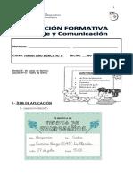 Evaluacion Formativa Unidad 2, Leccion 2