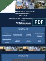 PETIC 2016-2018