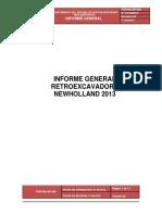 Informe General Retroexcavadora
