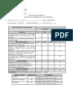 caligrama pauta evaluación