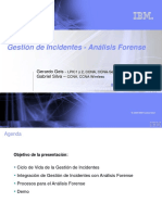 Gestion Incidentes y Analisis Forense