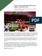 Global Power Sponsor Del Ramonda IPAG Montecchio, Volley A2 Femminile