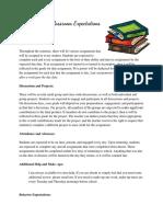 updated classroom management plan
