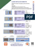 Tableros Modulares Metalicos Embutir Serie 6000