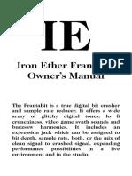 FrantaBit Manual for Print