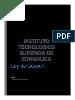 Ley de Liocourt