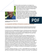 La Conspiración Del Borax de Walter Last Bioquímico e Investigador