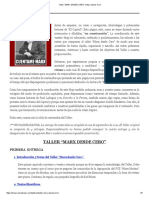 """Taller """"MARX DESDE CERO"""" _ Marx Desde Cero"""
