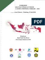 20100719 Ringkasan Hasil Studi Tim Revisi Peta Gempa Indonesia 2010