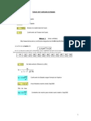 55450055 Calculo Coeficiente De Balasto Doc