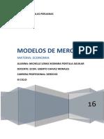 Modelos de Mercado