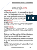 Iosrd Conference Paper Template
