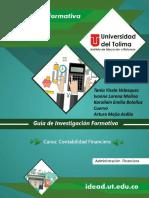 Guía de Investigación Formativa - Contabilidad Financiera