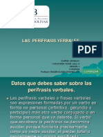 PERÍFRASIS VERBALES