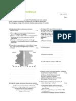 Ludność i Urbanizacja Test Grupy a i B 2