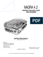 Nagra 4 2 Owners Manual