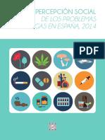 Percesocial Drogas 2014 España