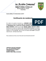 Junta de Accion Comunal Pablo Emilio