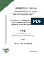 Determinacion de Parametros Electricos en Maquinas Sincronas de Polos Salientes