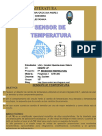 Sensor de Regulador de Temperatura