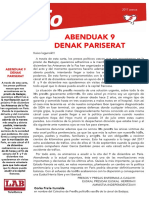ABENDUAK 9 -gaztel