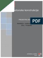 Stambena zgrada -Betonske-Konstrukcije.doc