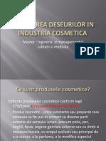 Generarea Deseurilor in Industria Cosmetica