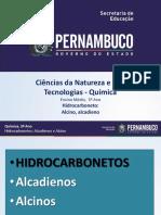 Hidrocarboneto Alcino, alcadieno.ppt