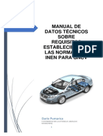Manual Datos écnicos GNCV