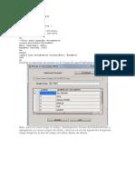 Create Database Ejemplo