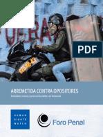 El informe de Human Right Watchs sobre Venezuela
