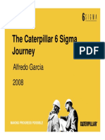 The Caterpillar 6 Sigma Journey